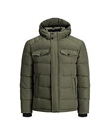 Men's Padded Hoodie Puffer Jacket