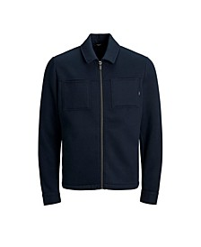 Men's Full Zip Long Sleeve Sweat Jacket