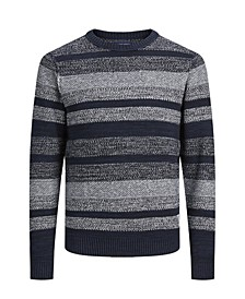 Men's Structured Long Sleeve Sweater