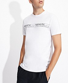 Men's Stripe Double Logo T-shirt