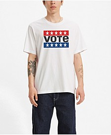 Men's Vote SS Relaxed Vintage-Like T-shirt