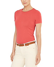 Lauren Ralph Lauren Stretch Knit T-Shirt