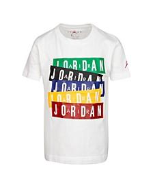 Toddler Boys Logo Stack T-Shirt