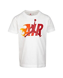 Little Boys Jumpman Flame Logo T-Shirt