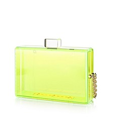 Lucite Acrylic Clutch