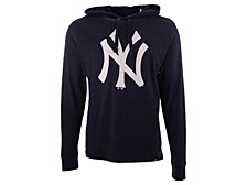 '47 Brand Men's New York Yankees Imprint Club Long Sleeve Hooded T-Shirt