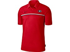 Men's Georgia Bulldogs Sideline Coaches Polo