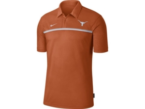 Nike Men's Texas Longhorns Sideline Coaches Polo
