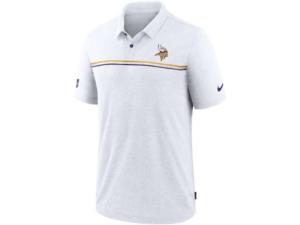 Nike Minnesota Vikings Men's Dri-Fit Short Sleeve Polo