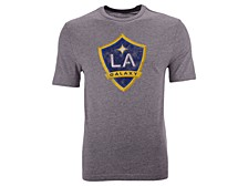 Men's LA Galaxy Distressed Primary Logo T-Shirt
