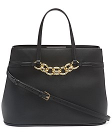 Leather Evelyn Tote