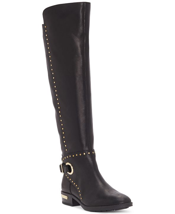Vince Camuto Women's Poppidal Stretch Riding Boots