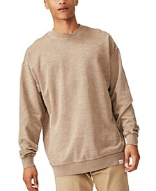 Pigment Dyed Oversized Crew Pullover