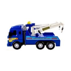 Mag-Genius Medium Duty Friction Powered Tow Truck Toy