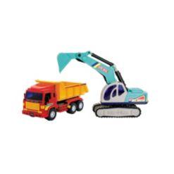 Big-Daddy Full Size Excavator & Dump Truck Combo