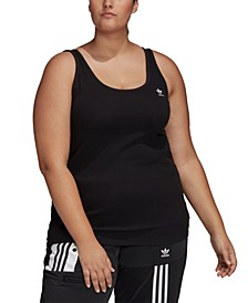 Plus Size Ribbed Tank Top