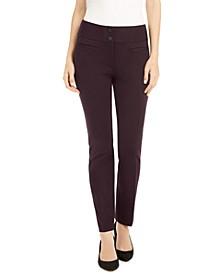 Ponté-Knit Slim Pants, Created for Macy's