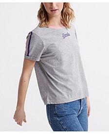 Women's Vintage Logo Micro Boxy T-Shirt