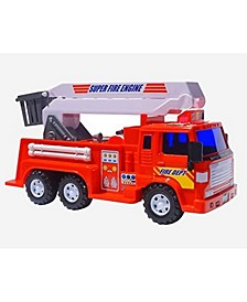 Mag-Genius Medium Duty Friction Powered Fire Truck Toy