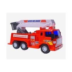 Mag-Genius Medium Duty Friction Powered Fire Truck Toy