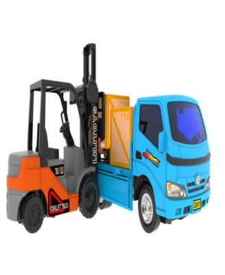 Mag-Genius Big Daddy Truck and Forklift Combo Toy