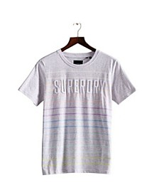 Women's Rainbow Stripe T-shirt