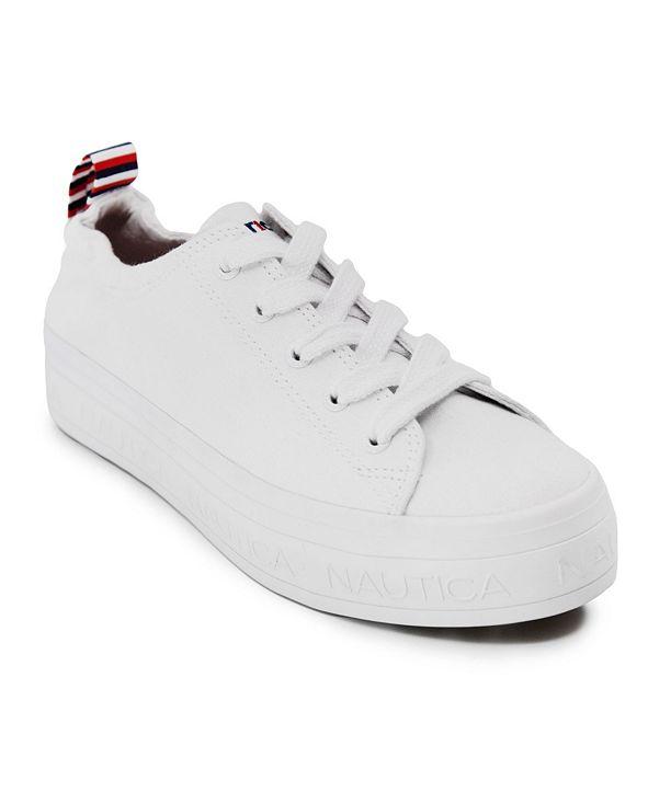 Nautica Asaria Women's Flatform Sneaker