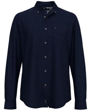 Tommy Hilfiger Men's Billy Twill Cotton Shirt