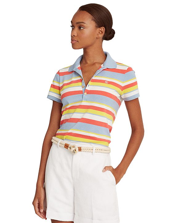 Lauren Ralph Lauren Kiewick Striped Polo Shirt