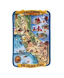 Certified International California Souvenir Rectangular Platter