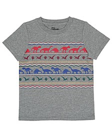 Toddler Boys Short Sleeve Multi Color Dino Graphic T-Shirt, Created For Macy's