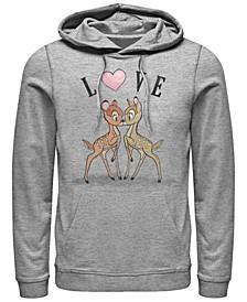 Men's Bambi Love Long Sleeve Hoodie