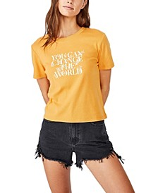 Essential Slogan T-shirt