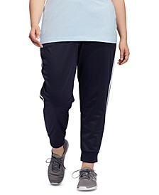 Plus Size Tricot Jogger Pants