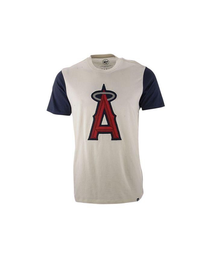 '47 Brand - Los Angeles Angels Men's Blocked Fieldhouse T-Shirt