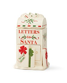Santa's Mailbox Cookie Jar