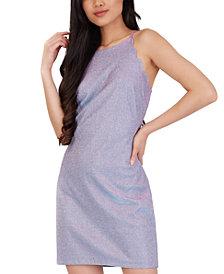 BCX Juniors' Shimmer Bodycon Dress