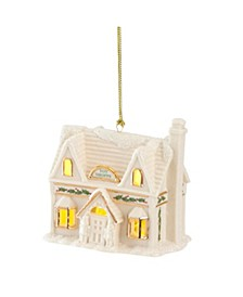CLOSEOUT! Christmas Village Toy Shoppe Lighted Ornament