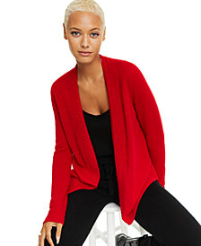 Charter Club Cashmere Open-Front Cardigan, Created for Macy's