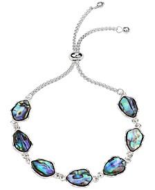 Silver-Tone Stone Slider Bracelet, Created for Macy's