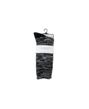 by Shelli Segal Women's Cozy Heat Lounge Crew Socks