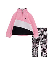 Baby Girls Track Jacket and Leggings Set