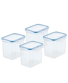 Easy Essentials Pantry 3.6-Cup Rectangular Food Storage Containers, Set of 4