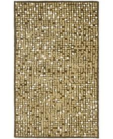 Mosaic MSR3623A Brown 5' x 8' Area Rug