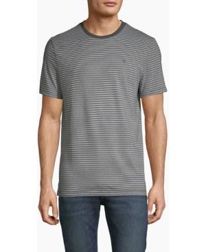 Calvin Klein Men's Heather Stripe Crewneck T-shirt