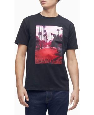 Calvin Klein Men's La Sunset Crewneck T-shirt