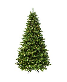 "7.5"" Pre-Lit Vermont Spruce Artificial Christmas Tree"