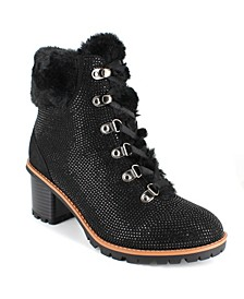 Women's Anais Heeled Hiker Booties