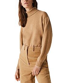Lacoste Wool Turtleneck Sweater
