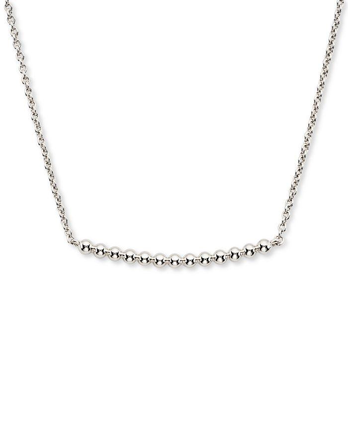 "AVA NADRI - Bead Bar Statement Necklace, 16"" + 1"" extender"